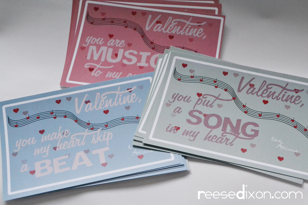 music themed valentines cards step 2  reesedixon  flickr