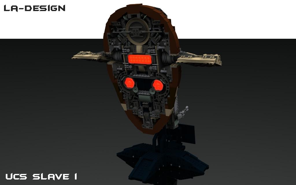 Lego Custom Star Wars Kamino Platform With Slave I 6 Flickr