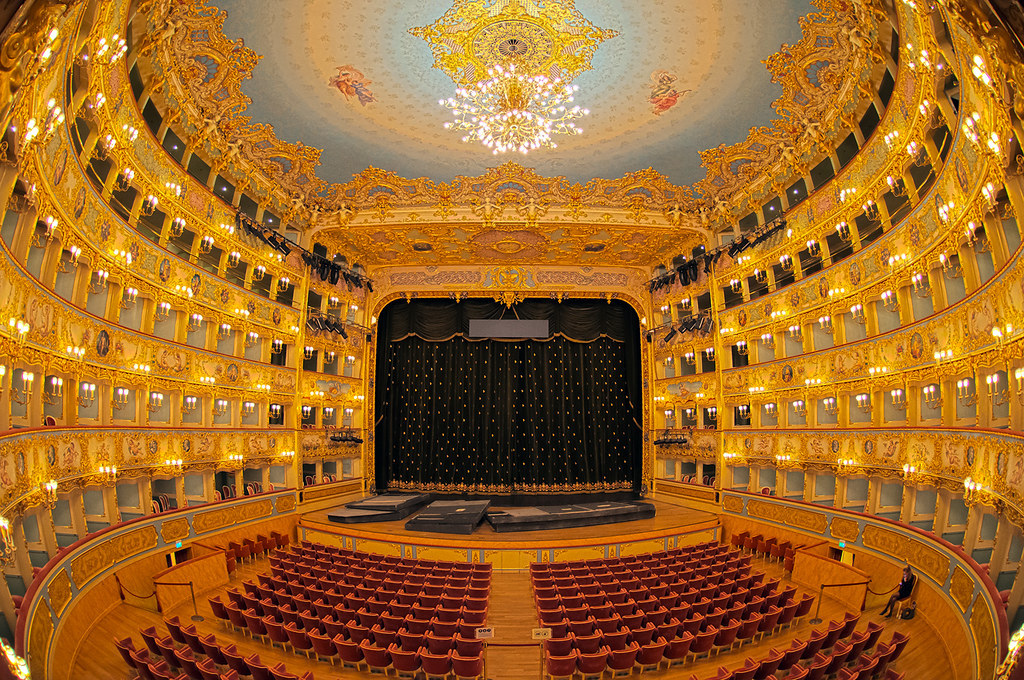 Teatro La Fenice Hdr Steve Collis Flickr