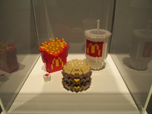 Lego McDonald's meal