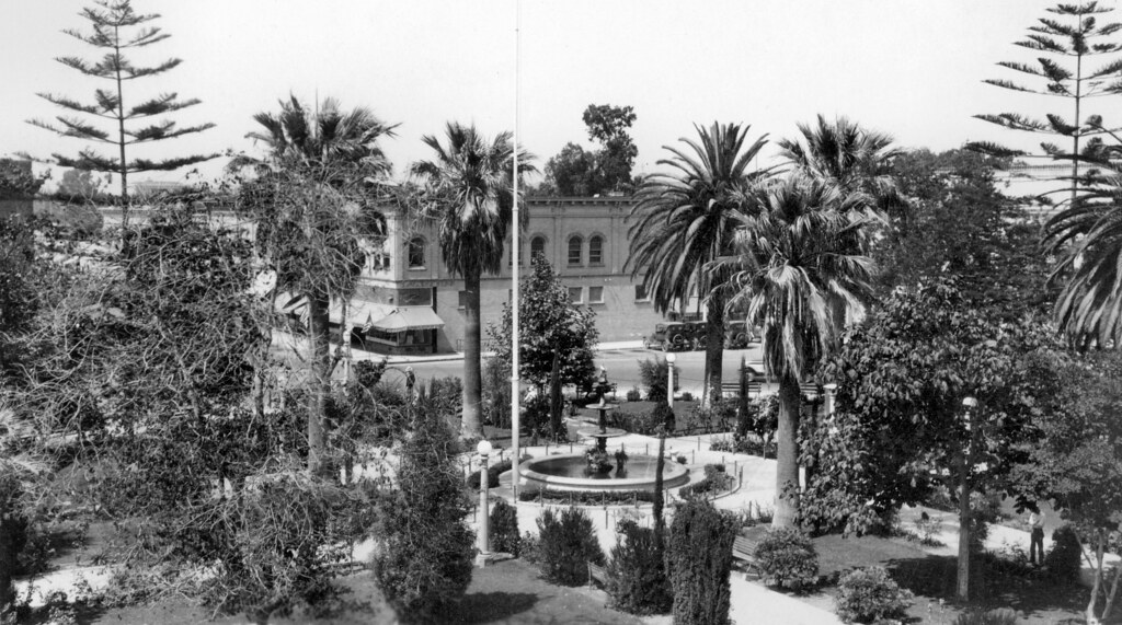 The Plaza City Of Orange 1920s There Are No Known