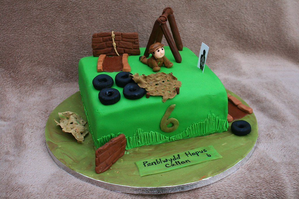 Army Assault Course Cake Eldriva Flickr