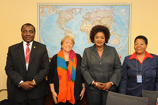 UN Women Executive Director Michelle Bachelet meets with Minister of Malawi | by UN Women Gallery