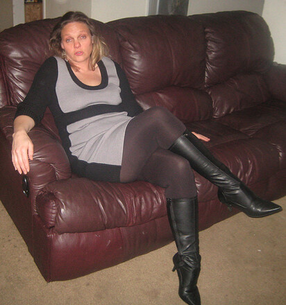 brown boots pantyhose sex