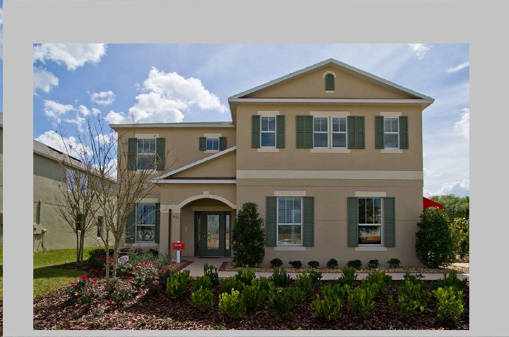 the san jose model home by beazer homes the san jose model flickr. Black Bedroom Furniture Sets. Home Design Ideas