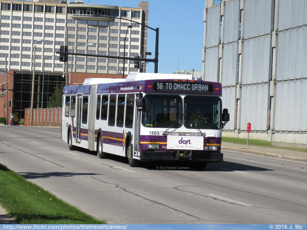 DART Des Moines Area RTA 1503 | Operated by: Des Moines Area… | Flickr