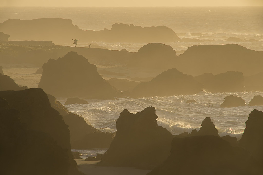 Mendocino coast sunset