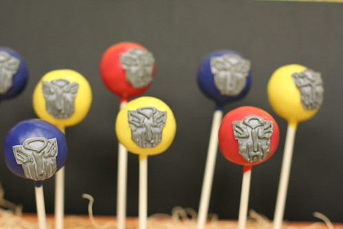 Transformers Cake Pops | by Sweet Lauren Cakes