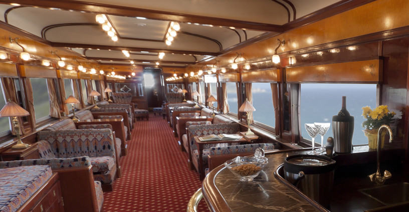 Private Rail Car Utah Parlor Cafe Lounge Car The