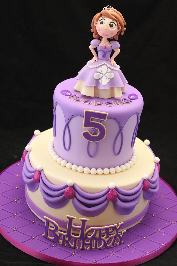 Cake Images Sofia : Sofia the First Cake Very pleased with how this cake ...
