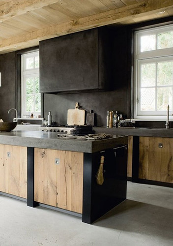 wooden kitchens | by the style files