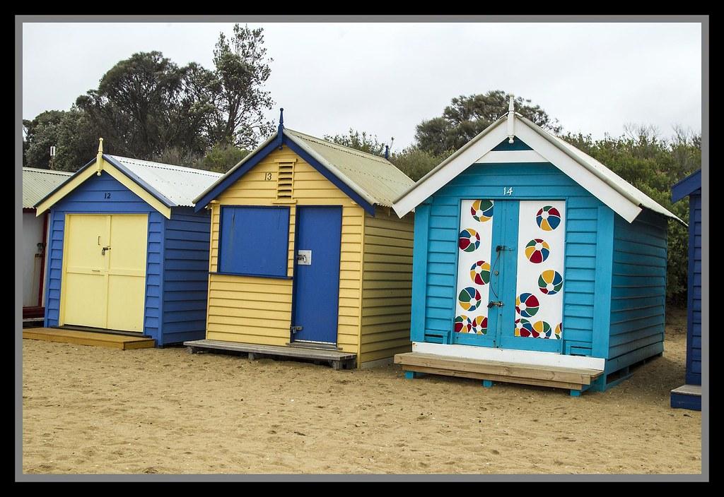 Beach Huts In Shoreham
