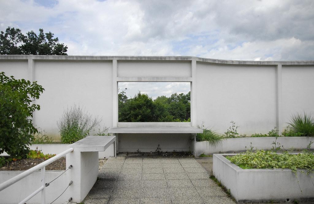 villa savoye roof garden christian ahlskog flickr. Black Bedroom Furniture Sets. Home Design Ideas