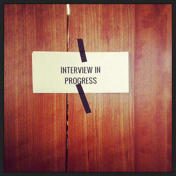 how to ask about the progress of the interview