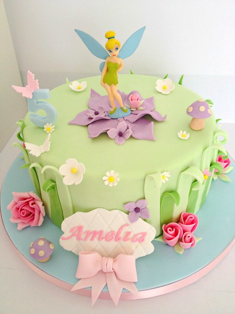 Tinkerbell Cake Ideas For Decorating