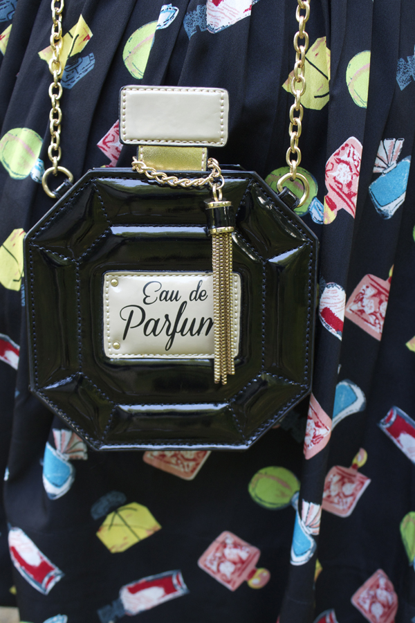 perfume bottle purse