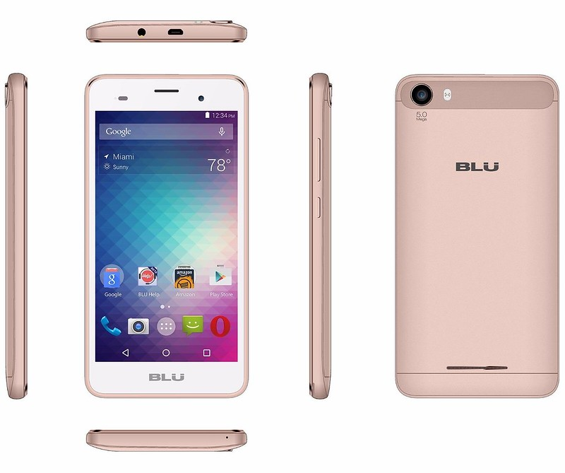 Blu Dash M2 Quad-core 1.3ghz + 512 Ram + 4 Gb + Android 6.0