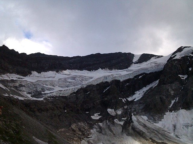 The glacier at the incredible Kaprunen Torl! An impenetrable mountain wall, made us wonder where the exit was, as this was the view from the plateau!