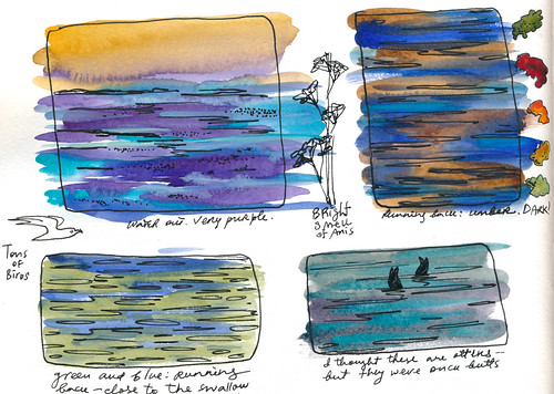 Sketchbook #99 - Notes from the Run