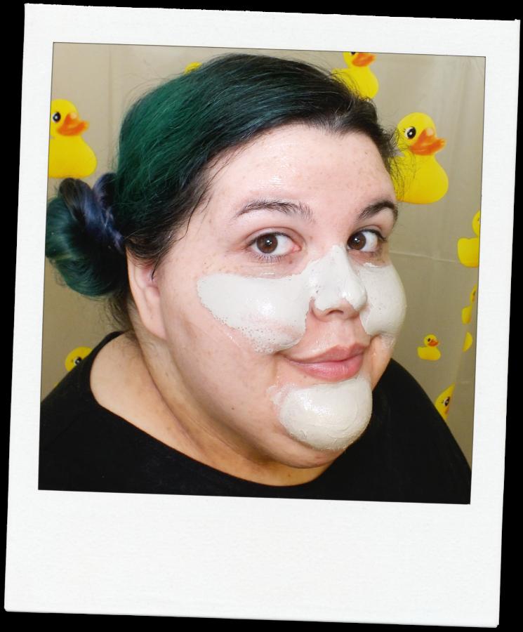 vichy mask selfie