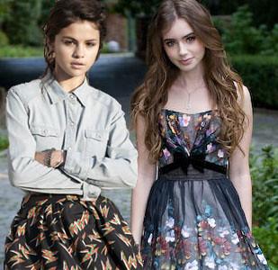 Lily Collins And Selena Gomez Manip New Edits