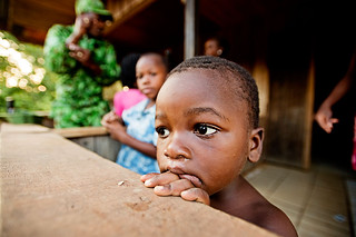 Parcs Gabon eco guard, Soho Jocelyn, prepares to say goodbye to his family | by WWF - Global Photo Network