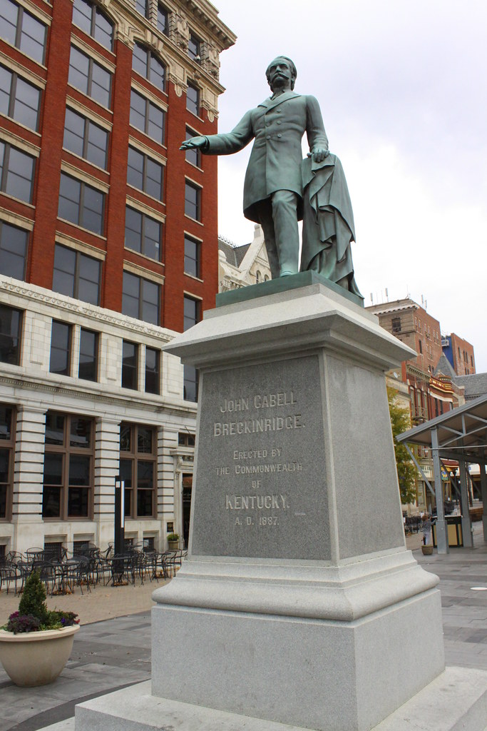John C Breckinridge Statue Lexington Ky Breckinridge