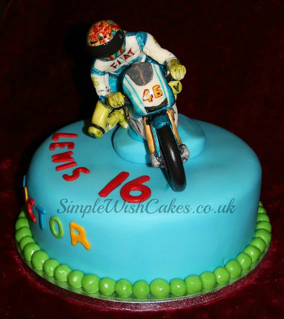 Valentino Rossi Birthday Cake