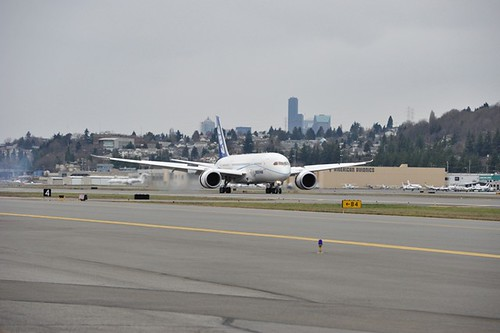 ZA005 Lands After Flight Test - Feb. 9, 2013 | by The Boeing Company