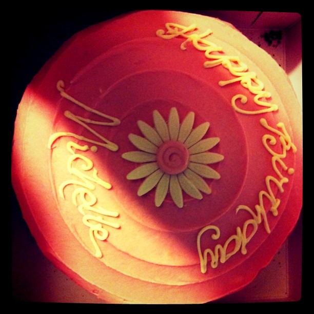 Happy Birthday Michelle Hawian Cake
