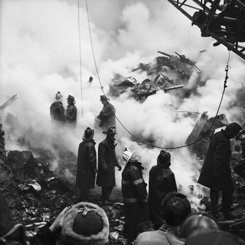 Wooster Street Fire, Feb. 15, 1958