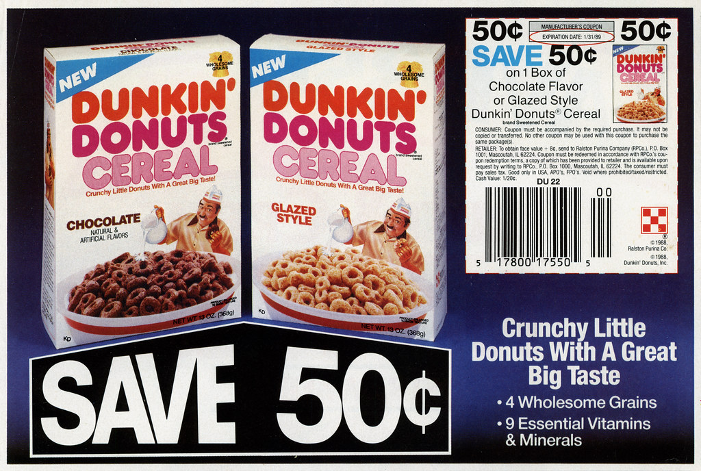 ralston - dunkin u0026 39  donuts cereal - cicular coupon