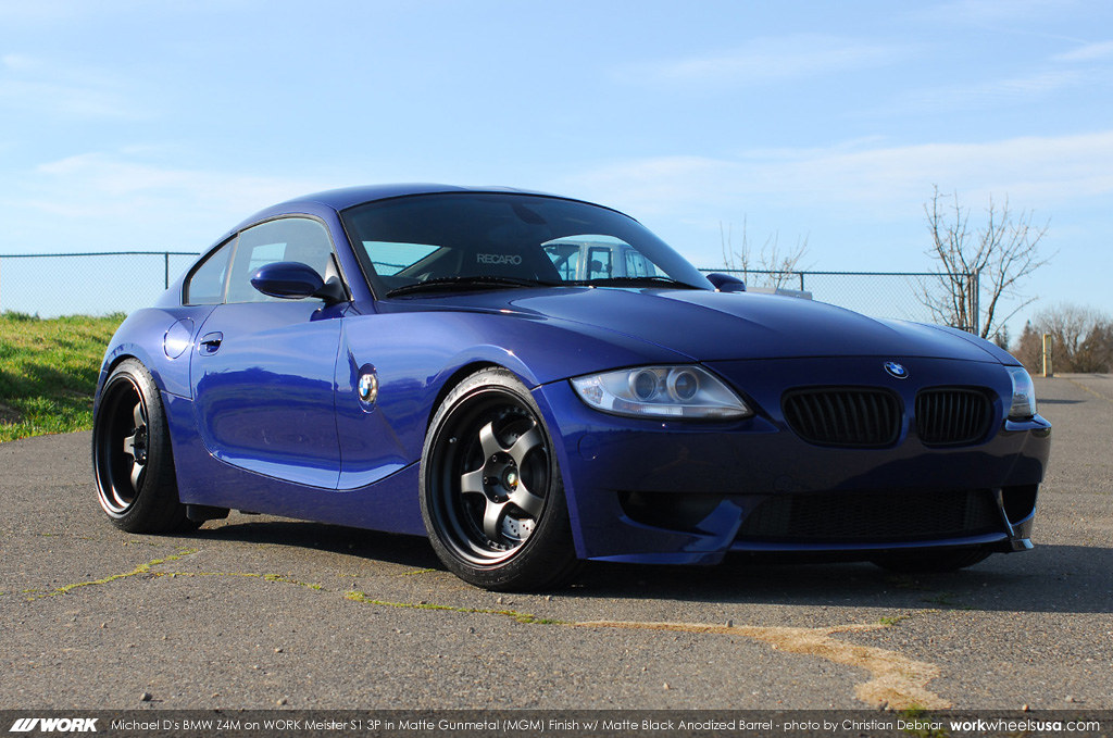Michael D S Bmw Z4m On Work Meister S1 3p 18 Quot Mgm Flickr
