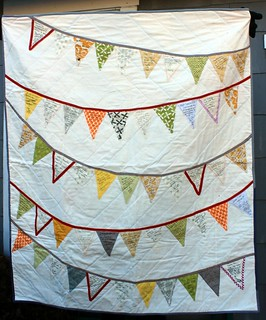 Bunting Wedding Signature Quilt | by DanaK~WaterPenny