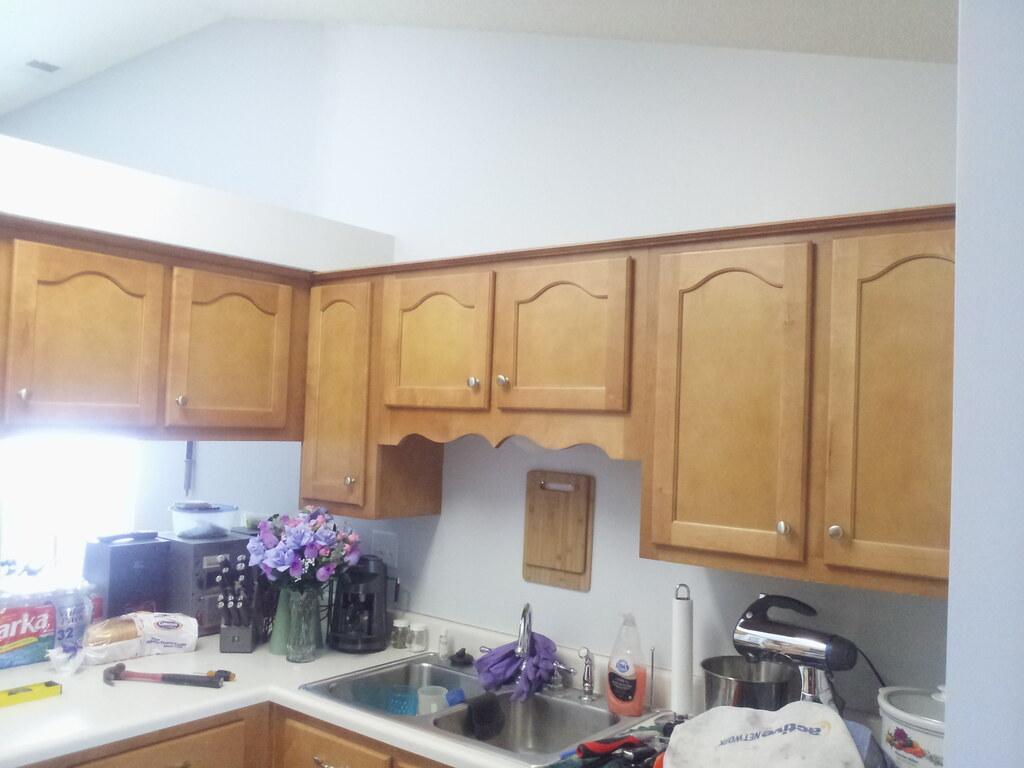 Light Gray Kitchen Cupboards