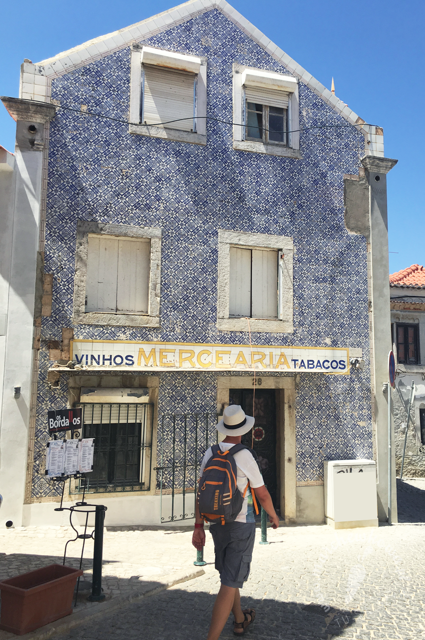 Lisbon, Cascais, azulejos