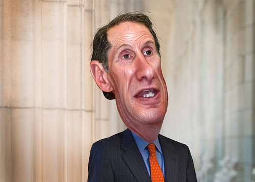 Ron Wyden - Caricature | by DonkeyHotey