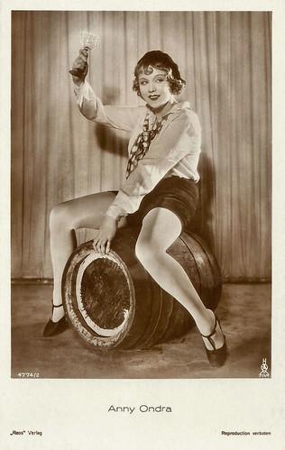 Anny Ondra in Sündig und süss (1929)