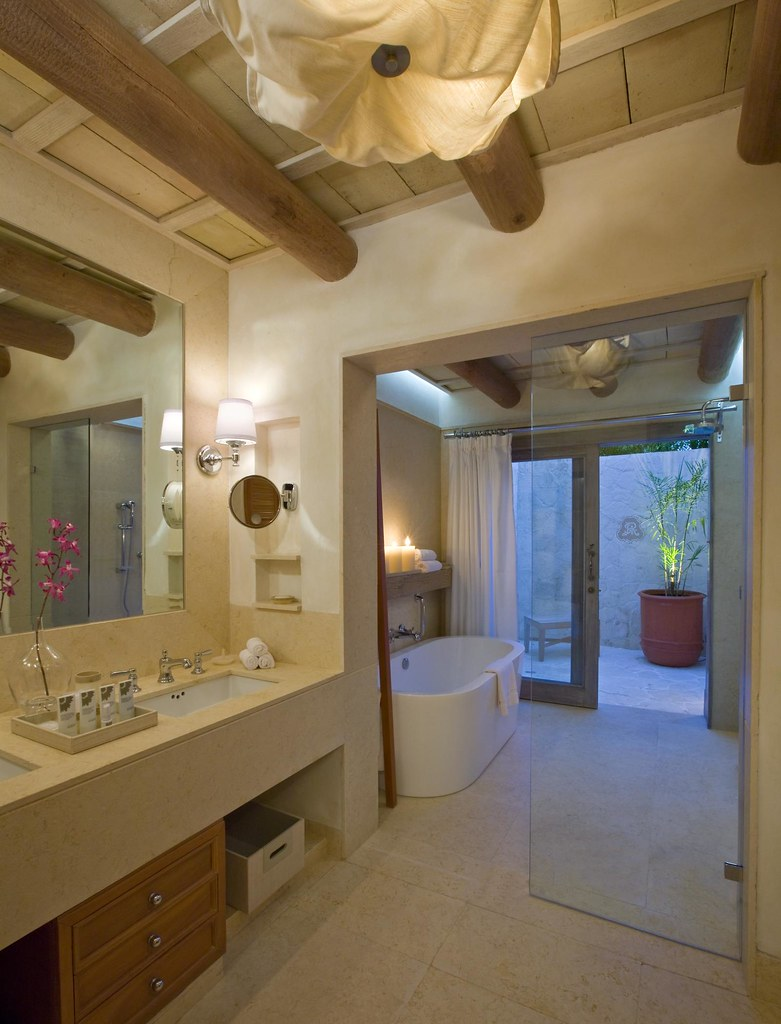 The St Regis Punta Mita Resort Deluxe Bathroom With Outdo Flickr