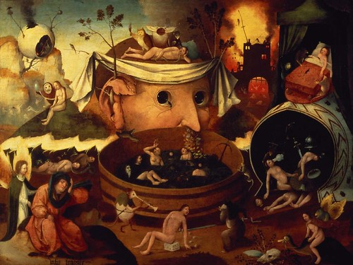 [ B ] Follower of Hieronymus Bosch - Tondal's Vision (c.1490s) | by Cea.