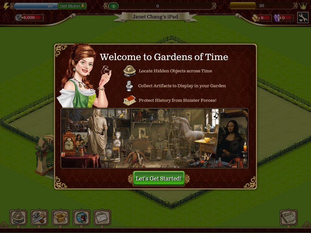 Garden of Time | UX Examples (Mobile Games) | Flickr