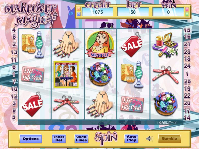 Makeover Magic Slots - Play Free Casino Slot Games