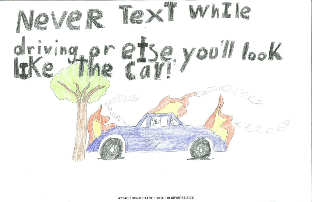 Kids Safety Calendar : Bge children safety drawing on the job and off