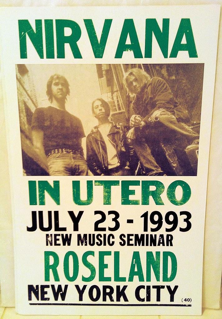 Nirvana Concert Poster | natalieswope | Flickr