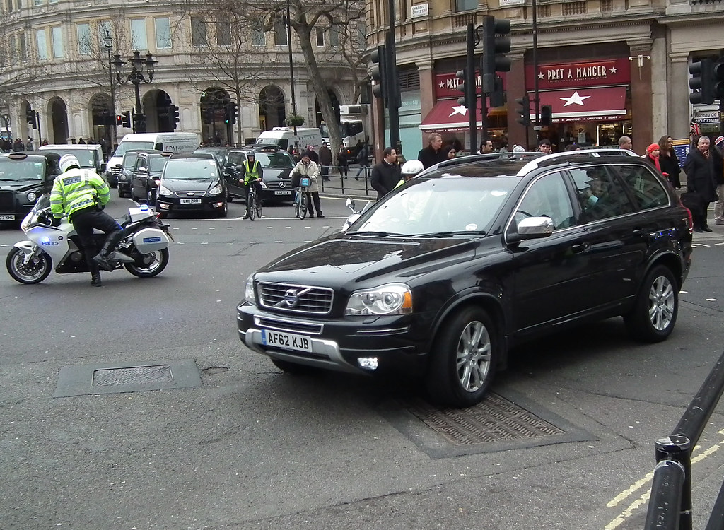 Met Police SEG Volvo Xc90 | Metropolitan Police Special Esco… | Flickr