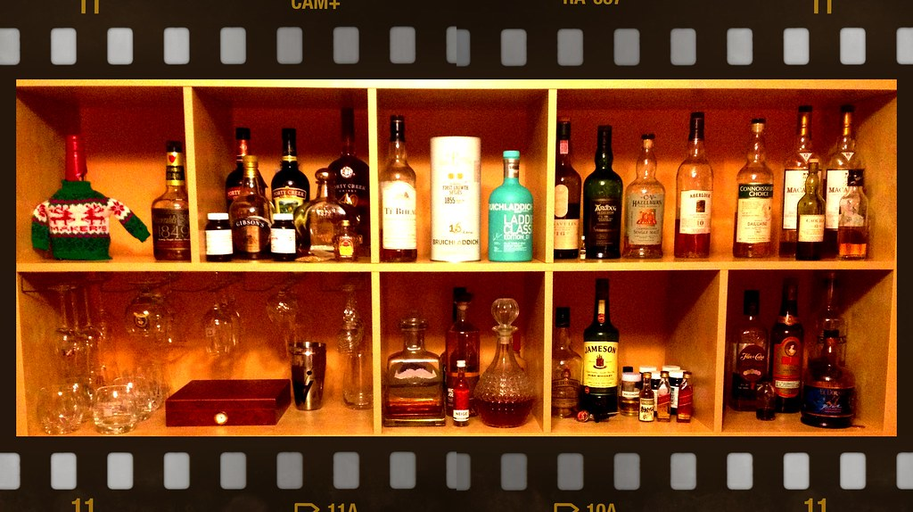 Whisky Cabinet | my whisky cabinet | Jean-Francois Pilon | Flickr