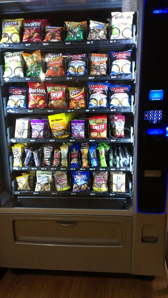 Saint Barnabas Vending Machine This Is A Photo Taken Of