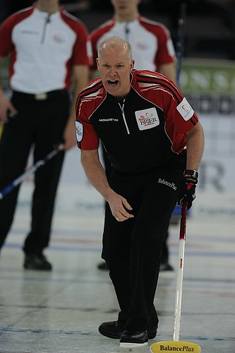 Edmonton Ab.Mar7,2013.Tim Hortons Brier.Ontario skip Glenn Howard,CCA/michael burns photo | by seasonofchampions