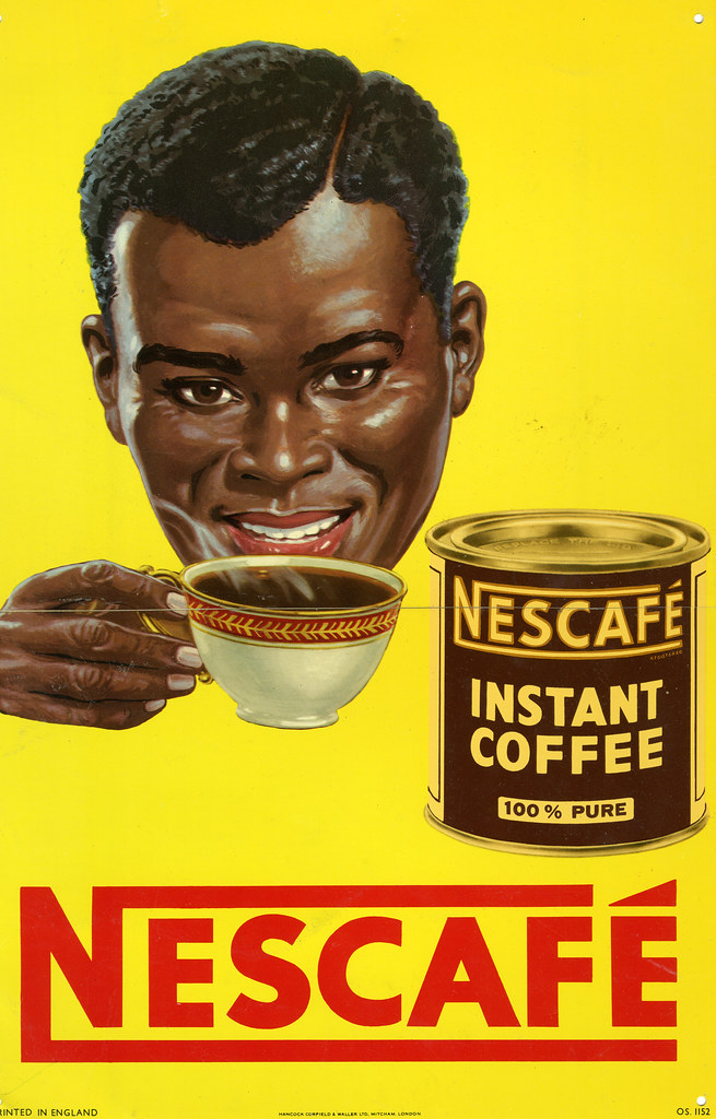 NESCAFÉ 75 YEARS: 1950s | A poster advert from Nigeria in ...