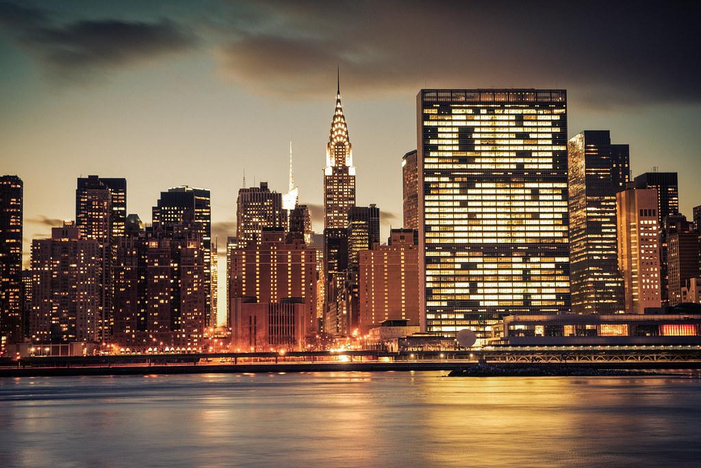 The new york city skyline flickr for Ohrensessel new york